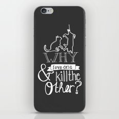 Erase the Division iPhone & iPod Skin