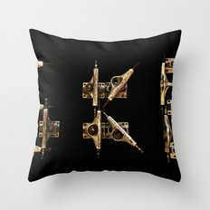 Sk8 typography Throw Pillow
