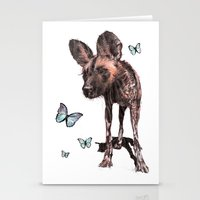 Painted Dog Stationery Cards
