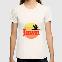 Wawa Jawn Womens Fitted Tee Natural SMALL