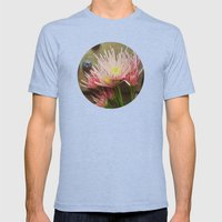 Rustic Spring Mens Fitted Tee Tri-Blue SMALL