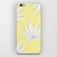 weed iPhone & iPod Skin
