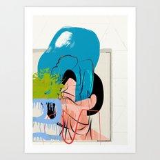 Aya Art Print