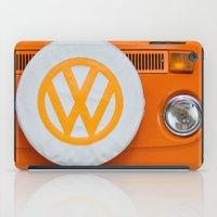 Volkswagen Orange iPad Case