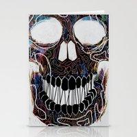 Chromatic Skull V.04 Stationery Cards