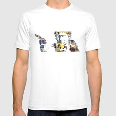 Han Shot First Mens Fitted Tee White SMALL
