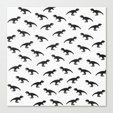 T-Rex Pattern Canvas Print