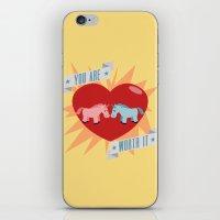 Unicorns Are Worth It iPhone & iPod Skin