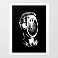 See My Heart Art Print