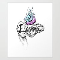 Gathering My Thoughts Fo… Art Print