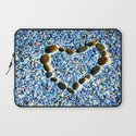 heart with stones Laptop Sleeve