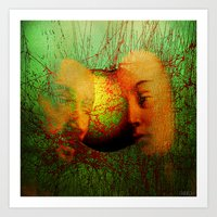 Adam and eve Art Print
