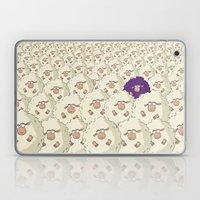 Sheep Pattern   Purple Laptop & iPad Skin