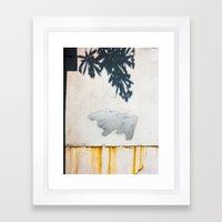 Shadow, Cloud And Rotten… Framed Art Print