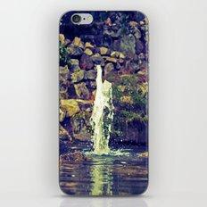 Jumping water iPhone & iPod Skin