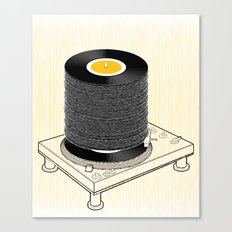Fat Stack Canvas Print