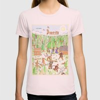 Locals Only- Danville Womens Fitted Tee Light Pink SMALL