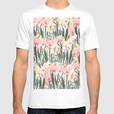 Ugly Garden Mens Fitted Tee White SMALL