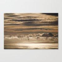 Creme Brulee Sky Canvas Print