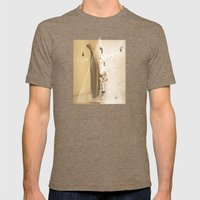 The Oracle Mens Fitted Tee Tri-Coffee SMALL