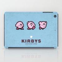 Kirbys Adventure iPad Case