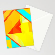 bipolar yellow Stationery Cards