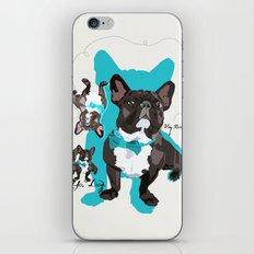 Chauncey Loves You - French Bulldog iPhone & iPod Skin
