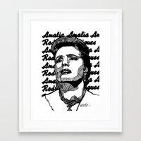 Fado Amalia 2 Framed Art Print