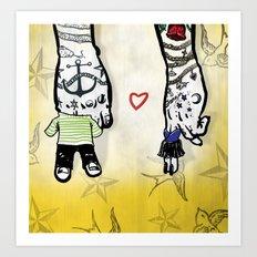 Inkling of Love Art Print