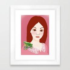 Froggy Framed Art Print