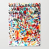A Study in Unconscious Collaboration Canvas Print