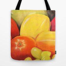 Fruit - Pastel Illustration Tote Bag
