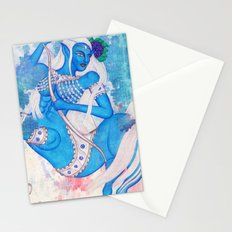 Sagittarius, The Lucky Traveler: Nov 22 - Dec 21 / Original Gouache On Paper Stationery Cards