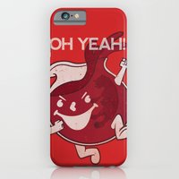 iPhone & iPod Case featuring OH YEAH! by Smoking Duck Productions