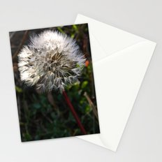 decorated dandelion Stationery Cards