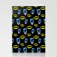 Bat Pattern Stationery Cards