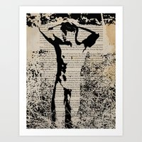 He Knew He Was Being Watched Art Print
