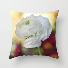 Flowering Princess Throw Pillow