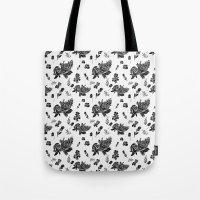 VINTAGE FLORAL Tote Bag