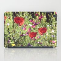A floral spot on Earth iPad Case