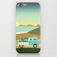 iPhone & iPod Case featuring Vespavan by Hand Drawn Creative