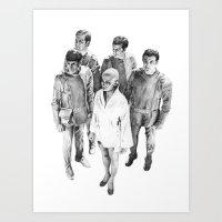 Star Trek - Let's See V'… Art Print