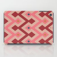 Kilim In Pink iPad Case