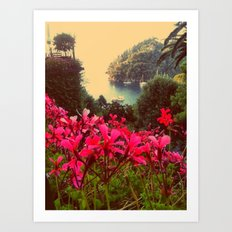 A little piece of paradise Art Print
