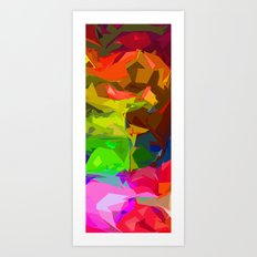 A Glimpse of Happiness  Art Print
