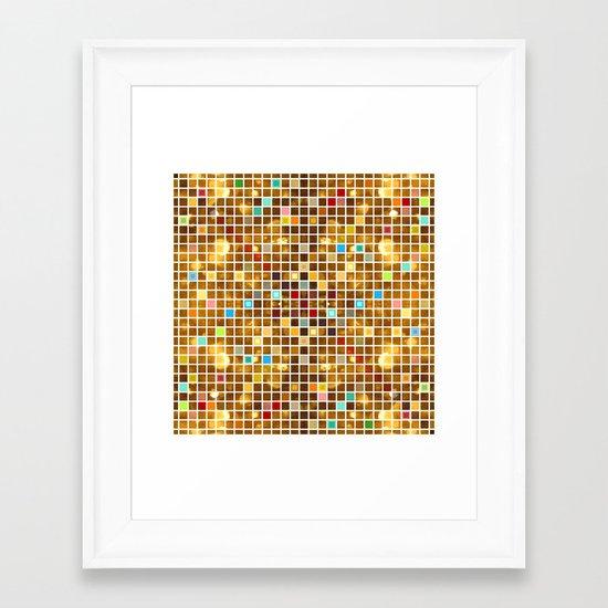 Click #5 Framed Art Print