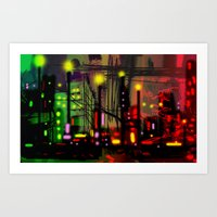 Skyline Fascination Art Print