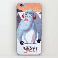 :::Happy Yetis::: iPhone & iPod Skin