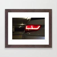 A1's back Framed Art Print