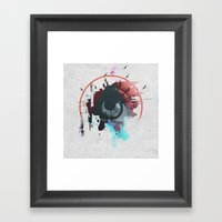Seek Framed Art Print